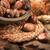 meyve · sonbahar · düşmek · tatlı · somun - stok fotoğraf © homydesign