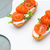 fromage · cottage · bruschetta · simple · sandwiches · alimentaire · pain - photo stock © homydesign
