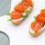 bruschetta · sandwich · fromage · cottage · bois · planche · à · découper · alimentaire - photo stock © homydesign