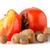 maduro · nueces · blanco · frutas · fondo · naranja - foto stock © homydesign