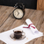old clock hat coffee and paper sheets stock photo © homydesign