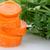 carota · fette · primo · piano · bianco - foto d'archivio © homydesign