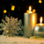 christmas · kaarsen · donkere · nacht · mooie · vakantie - stockfoto © homydesign