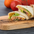 tavuk · salatası · sebze · tortilla · cips · gıda - stok fotoğraf © homydesign