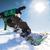 snowboard · kış · sporları · poster · adam · uzay · kadın - stok fotoğraf © homydesign