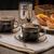portuguese custard tarts with coffee stock photo © homydesign