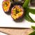 tutku · meyve · beyaz · seramik · tepsi · ahşap · masa - stok fotoğraf © homydesign