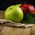 apples in a napkin stock photo © homydesign