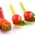 geserveerd · omhoog · saus · kerstomaatjes · voedsel - stockfoto © homydesign