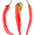 rojo · chile · pimientos · blanco · diversión · color - foto stock © homydesign