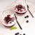 ヨーグルト · 砂漠 · ラズベリー · ブラックベリー · ミント · フルーツ - ストックフォト © homydesign