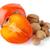 maduro · nozes · branco · fruto · saúde · fundo - foto stock © homydesign