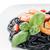 tészta · tagliatelle · serpenyő · fa · asztal · sötét · kanál - stock fotó © homydesign