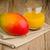 mango · succo · fresche · piccolo · bottiglie · legno - foto d'archivio © homydesign