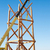 construction of wooden towers using a mobile crane stock photo © hraska