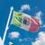 waving italian flag stock photo © hraska