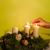 сжигание · свечу · домой · Рождества · время · древесины - Сток-фото © hraska