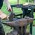 kovács · dolgozik · fém · kalapács · üllő · munka - stock fotó © hraska