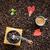 groene · koffiebonen · blad · koffie · dieet · concept - stockfoto © hraska