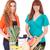 女性 · 食料品 · ショッピング · スーパーマーケット · ライフスタイル · お金 - ストックフォト © hsfelix