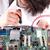 moederbord · computer · ingenieur · werken · geïsoleerd · business - stockfoto © hsfelix