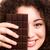 小さな · かわいい · ブルネット · 少女 · チョコレート · パリジャン - ストックフォト © hsfelix