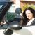 ビジネス女性 · スポーツカー · 小さな · 成功した · 豪華な · 少女 - ストックフォト © hsfelix