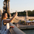Paris · kadın · telefonu · kadın · konuşma · cep · telefonu - stok fotoğraf © hsfelix