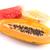 melón · sandía · rebanadas · aislado · blanco · alimentos - foto stock © hsfelix
