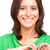 любви · красивая · женщина · формы · сердца · рук · изолированный - Сток-фото © hsfelix