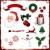 vector christmas elements isolated on white stock photo © hugolacasse