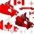 bayrak · İngilizler · Kanada · örnek · harita · tahta - stok fotoğraf © hugolacasse