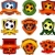fútbol · fútbol · resumen · pelota · iluminado · vector - foto stock © hugolacasse