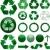 ecologie · groene · recycling · vector · zwarte - stockfoto © hugolacasse