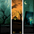 halloweens vertical banners stock photo © hugolacasse