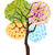 изолированный · аннотация · весны · время · дерево · цветы - Сток-фото © huhulin