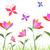 оригами · бабочка · изолированный · белый · цветок · аннотация - Сток-фото © huhulin