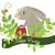 Pascua · conejo · flor · naturaleza · huevo · verde - foto stock © iaRada