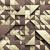 zadel · bruin · abstract · laag · veelhoek · stijl - stockfoto © iaroslava
