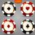 vip · pôquer · vermelho · branco · lasca · dourado - foto stock © iaroslava