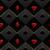 black and red seamless pattern fabric poker table minimalistic casino vector 3d background stock photo © iaroslava