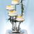 mavi · düğün · pastası · beyaz · düğün · fincan · kekler - stok fotoğraf © icefront