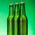 üç · bira · şişeler · toplama · yalıtılmış · beyaz - stok fotoğraf © icefront