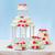 düğün · kekler · tablo · dekore · edilmiş · gıda · beyaz - stok fotoğraf © icefront