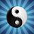 синий · Инь-Ян · символ · белый · мира · китайский - Сток-фото © icefront