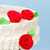 red rose marzipan decoration on wedding cake stock photo © icefront