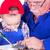 деда · преподавания · внук · пайка · железной · семьи - Сток-фото © icefront
