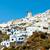 moinho · de · vento · santorini · imagem · grande · grego · ilha - foto stock © icefront