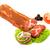 辛い · 豚肉 · 薫製 · スライス · タマネギ - ストックフォト © icefront