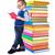 weinig · jongen · lezing · boeken · portret · zoete - stockfoto © icefront